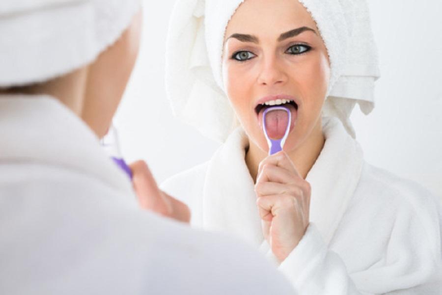 pulire la lingua