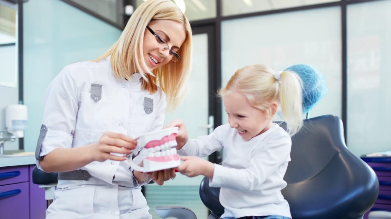 salute dei denti nei bambini