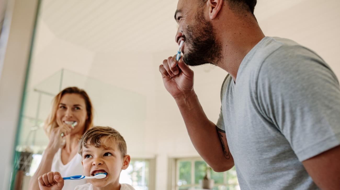 Salute della bocca dei bambini